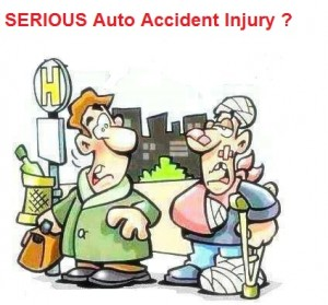 number for Auto Injury Accidents